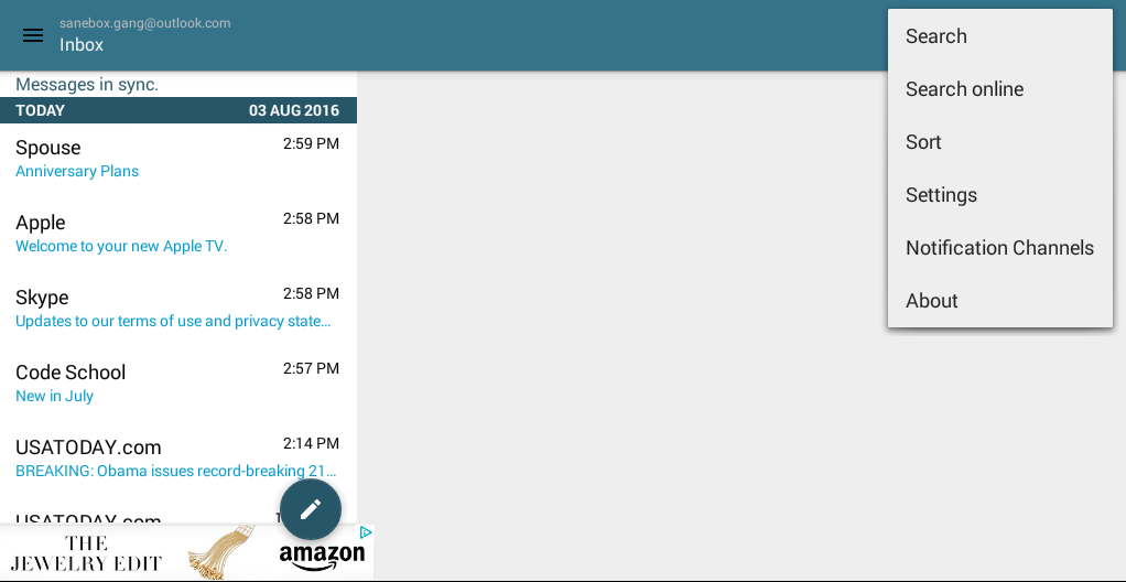 SaneBox | SaneBox Integration With MailDroid