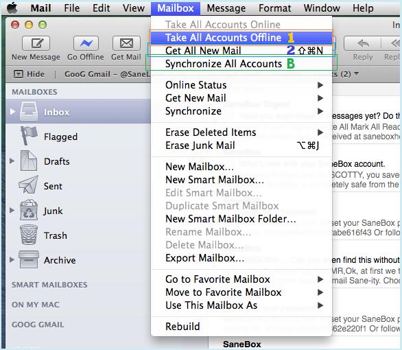 SaneBox | Apple Mail 7: OSX Mavericks Known Bugs with IMAP