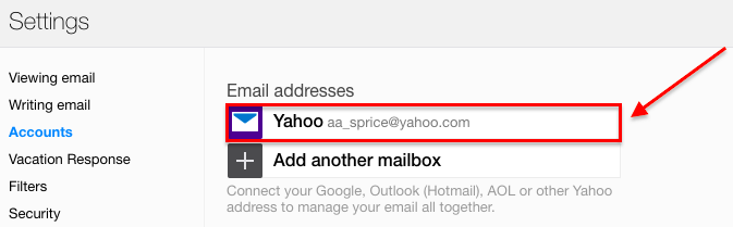 SaneBox | Yahoo: How to set up automatic forwarding from one account