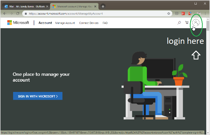 Login in msn How to